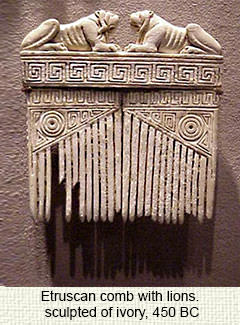 Ancient Etruscan comb