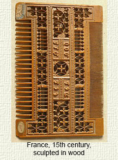 French Medieval comb