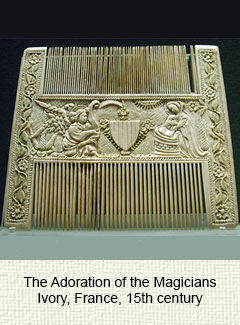 French liturgical comb