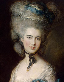 Gainsborough Lady in Blue